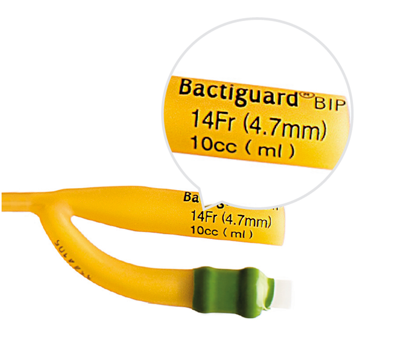 Bactiguard ballongstorlek kateter