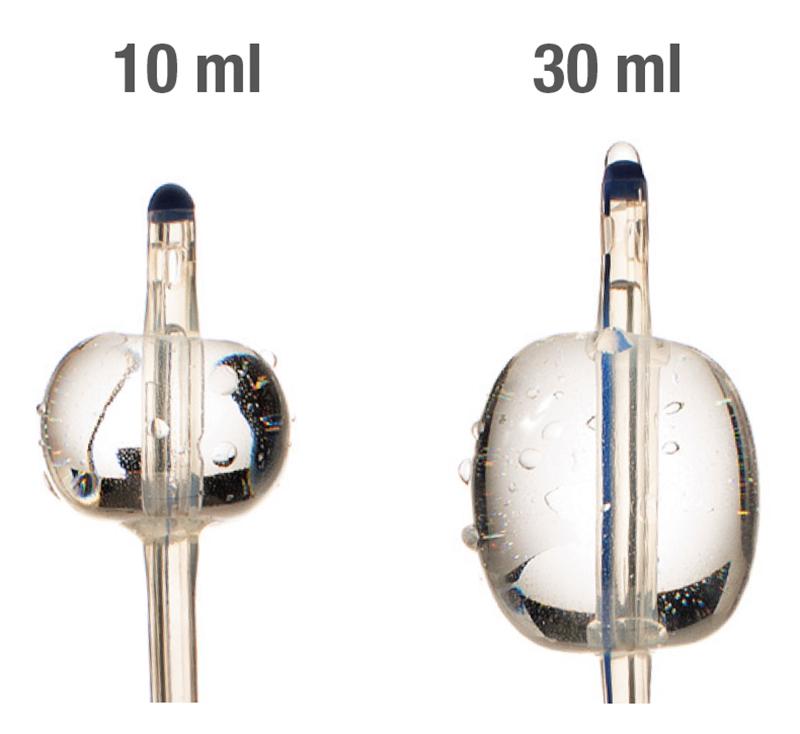 Bactiguard ballongstorlekar kateter 10ml-30ml