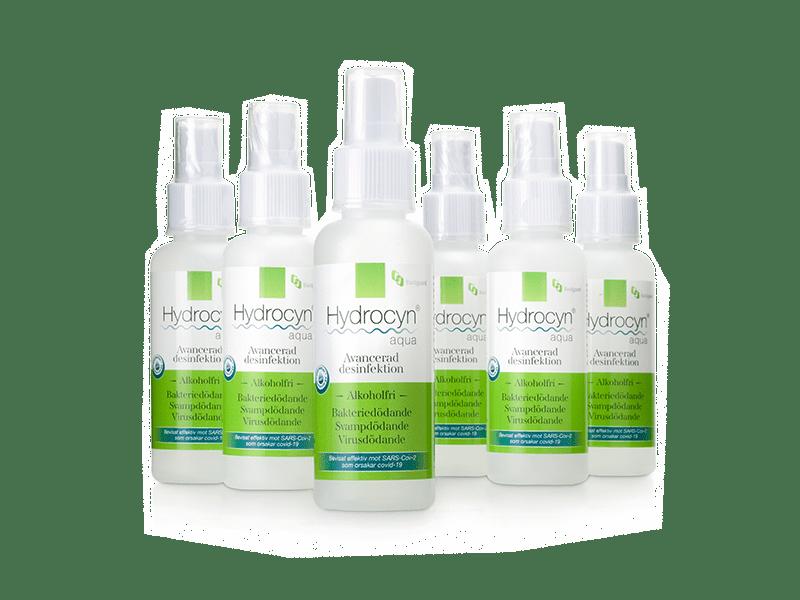 Hydrocyn® aqua Avancerad desinfektion - bevisat effektiv mot nya coronaviruset